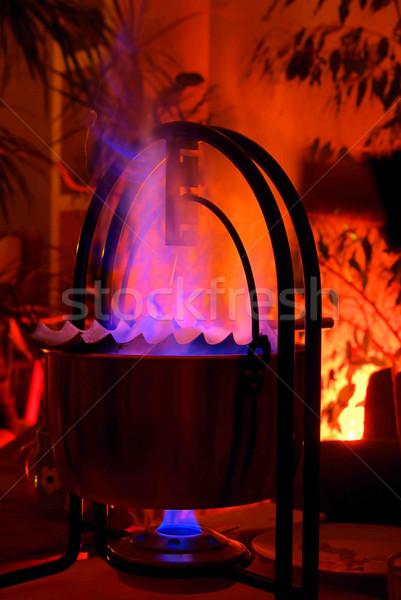 Feuerzangenbowle - brandy punch 04 Stock photo © LianeM