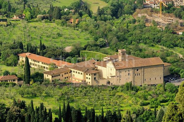 Florenz Kloster - Florence monastery 01 Stock photo © LianeM