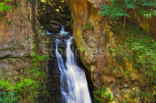 Stock photo: waterfall Woelfelfall in Silesia