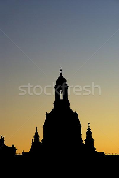 ドレスデン 旧市街 1泊 空 建物 光 ストックフォト © LianeM