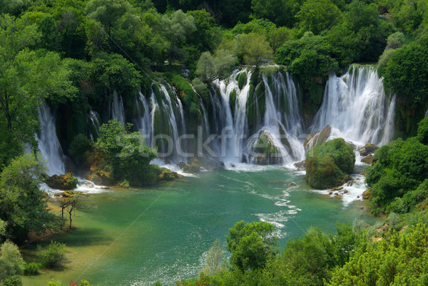 Kravica waterfall 05 Stock photo © LianeM