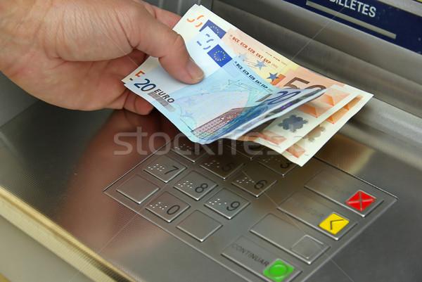 cash point 12 Stock photo © LianeM