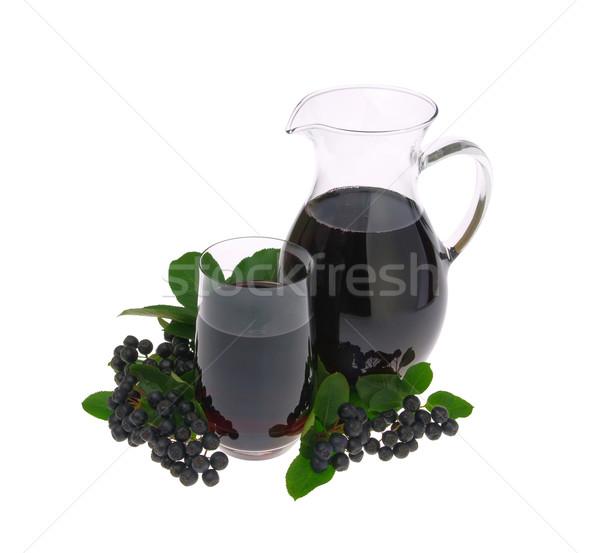 aronia juice 03 Stock photo © LianeM