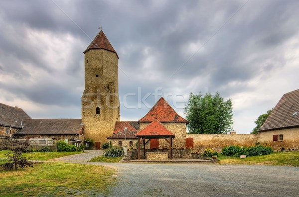Freckleben castle  Stock photo © LianeM