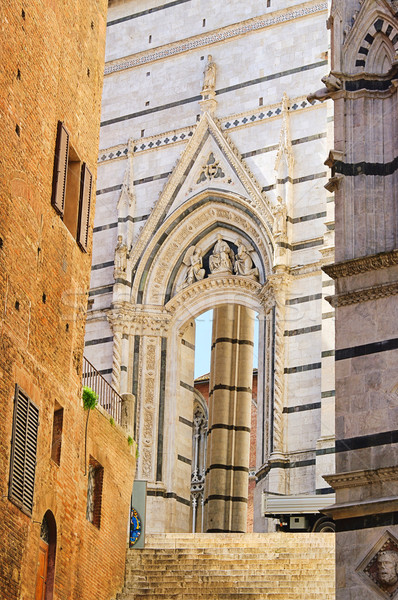 Siena cathedral detail 01 Stock photo © LianeM