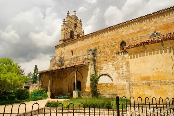 Valhermosa church 02 Stock photo © LianeM