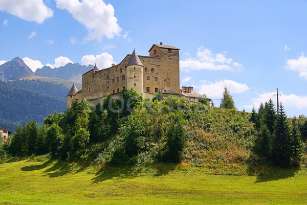 Nauders castle 02 Stock photo © LianeM