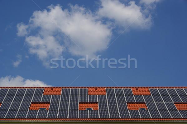 solar plant 33 Stock photo © LianeM