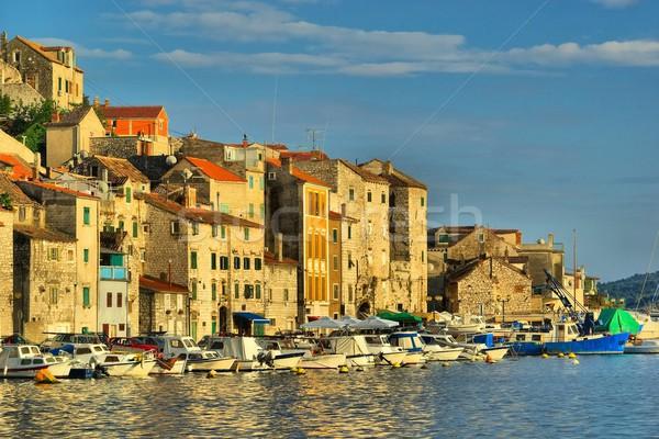 Porto acqua casa barca Europa città Foto d'archivio © LianeM