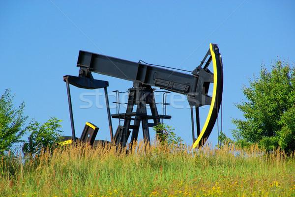 oil pump 06 Stock photo © LianeM