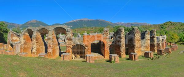Amiternum amphitheatre 03 Stock photo © LianeM