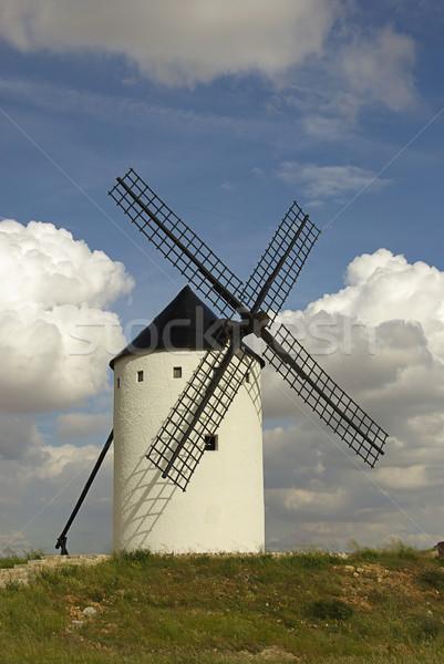 Alcazar windmill 17 Stock photo © LianeM