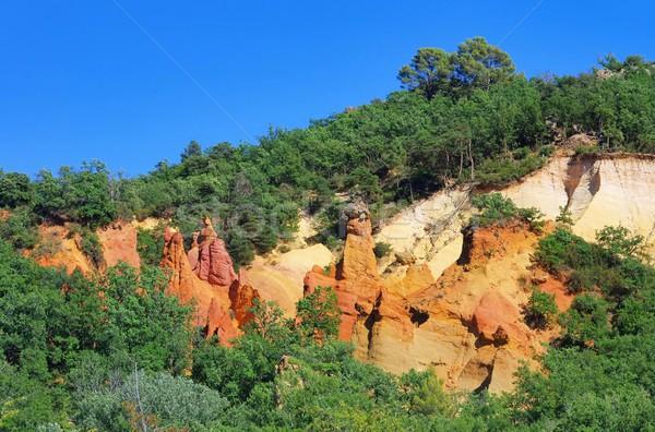 Rochas 18 natureza paisagem laranja viajar Foto stock © LianeM