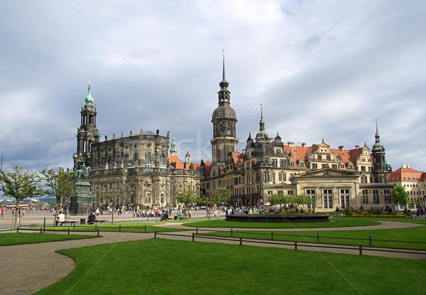 Dresden old town 08 Stock photo © LianeM