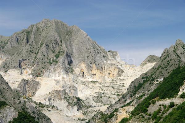 Carrara  marble stone pit 02 Stock photo © LianeM