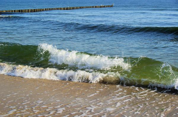 Mar báltico praia natureza azul viajar onda Foto stock © LianeM
