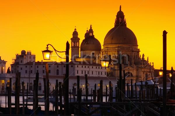 Venice Santa Maria della Salute  Stock photo © LianeM