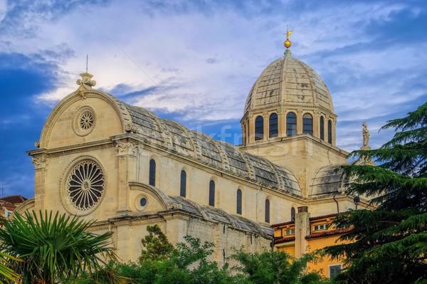 Sibenik Cathedral  Stock photo © LianeM