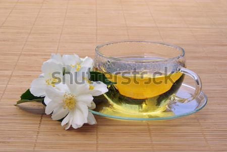 tea elder flower 07 Stock photo © LianeM