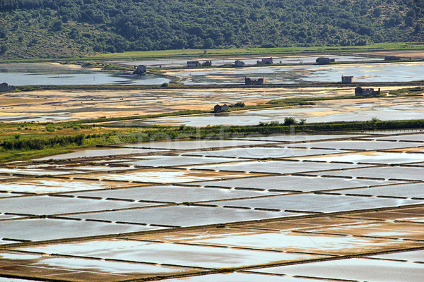 Piran Saline 01 Stock photo © LianeM