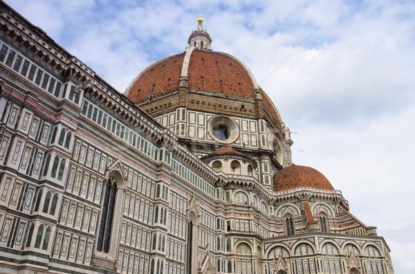 FLORENCE cathédrale bâtiment Voyage architecture Toscane Photo stock © LianeM