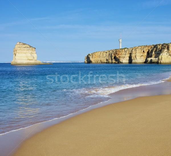 Algarve Strand Caneiros - Algarve beach Caneiros 01 Stock photo © LianeM