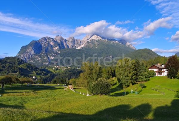 Gruppo dei Brentoni in Alps Stock photo © LianeM