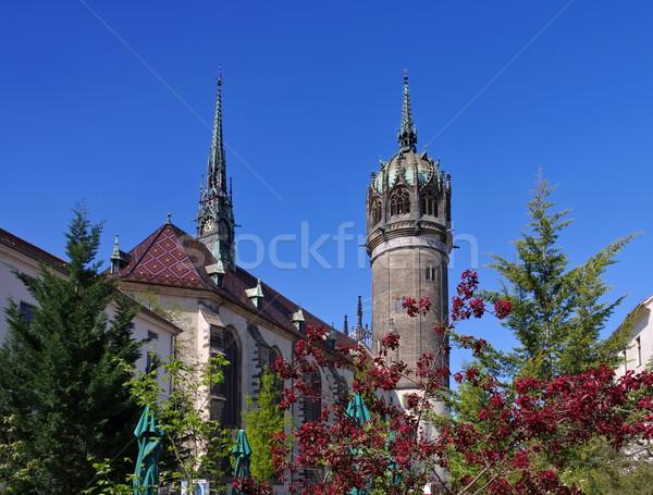 Wittenberg, All Saints Church Stock photo © LianeM
