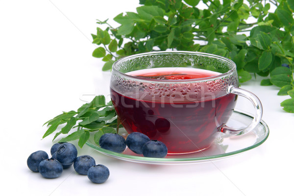 blueberry tea 03 Stock photo © LianeM