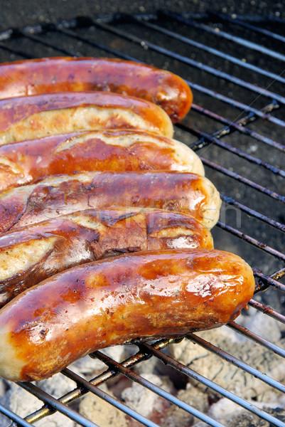 barbecue bratwurst 06 Stock photo © LianeM