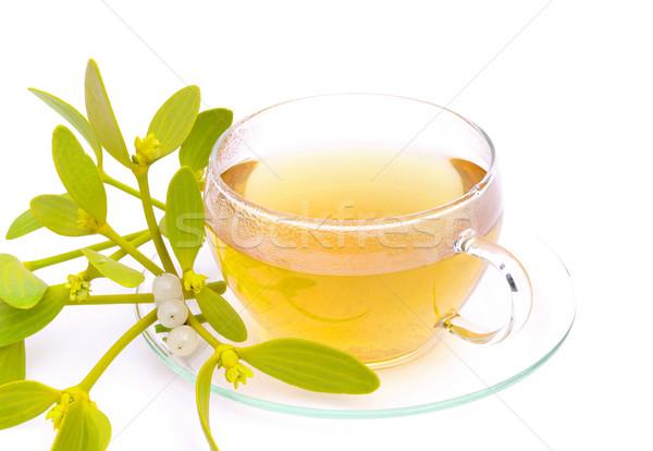 Stock photo: tea mistletoe 02