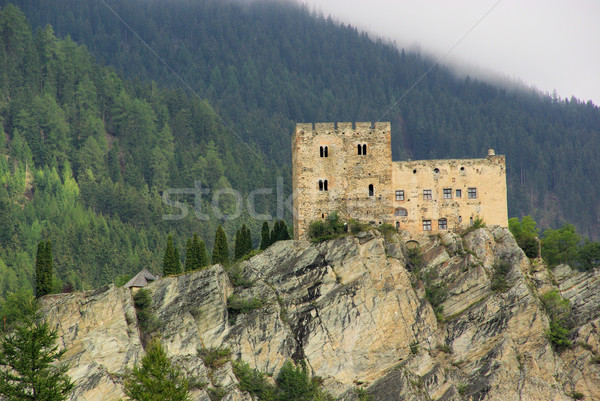 Stock photo: Ladis castle Laudegg 01