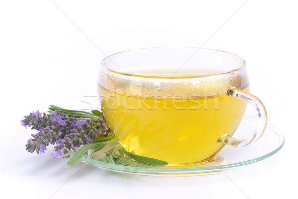 lavender tea 02 Stock photo © LianeM