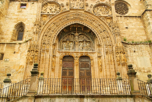Porta város Európa kapu struktúra ősi Stock fotó © LianeM