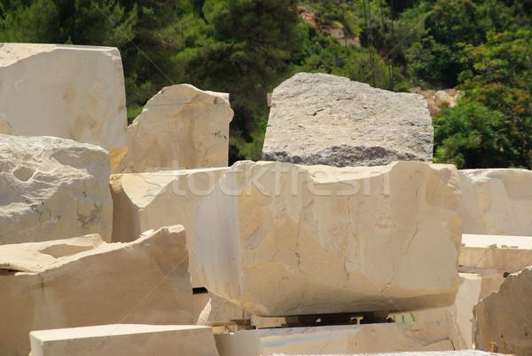 marble quarry 01 Stock photo © LianeM