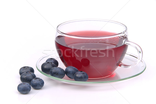 blueberry tea 10 Stock photo © LianeM