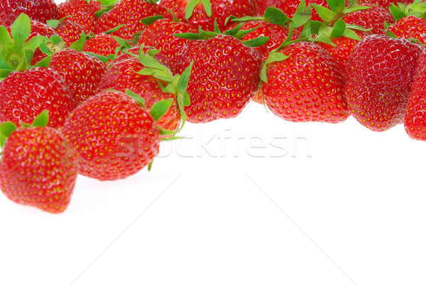 イチゴ 孤立した 13 食品 背景 ストックフォト © LianeM