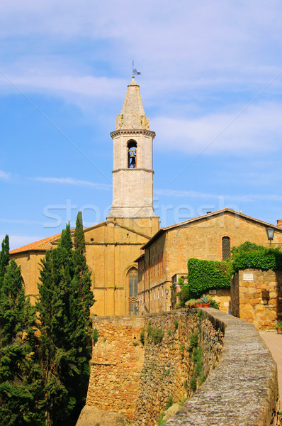 Stock photo: Pienza cathedral 09