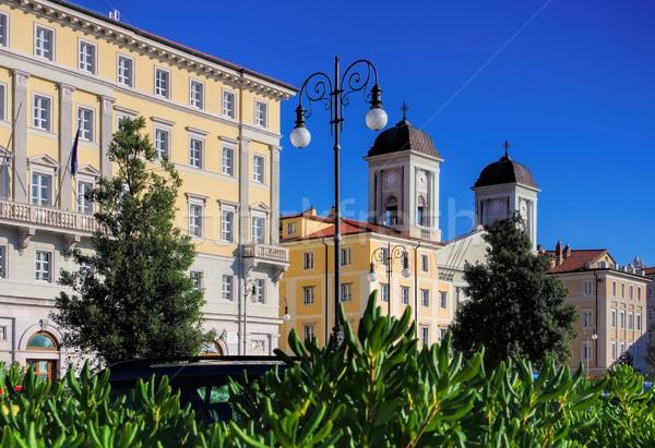 Trieste San Nicolo dei Greci  Stock photo © LianeM