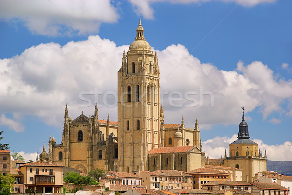 Segovia cathedral 03 Stock photo © LianeM