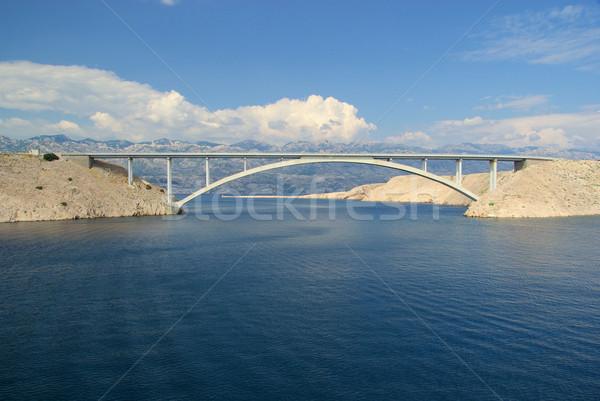 Pag bridge 16 Stock photo © LianeM