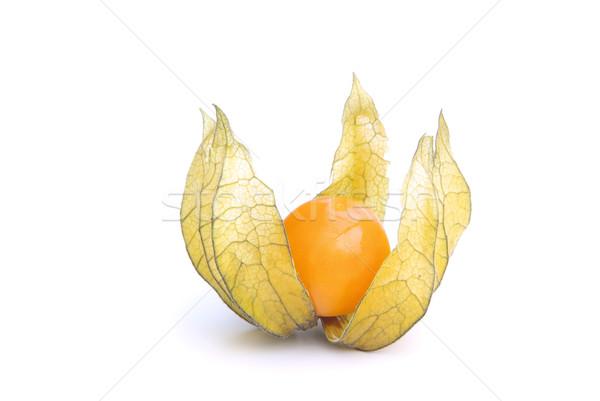 10 étel gyümölcsök citromsárga édes makró Stock fotó © LianeM