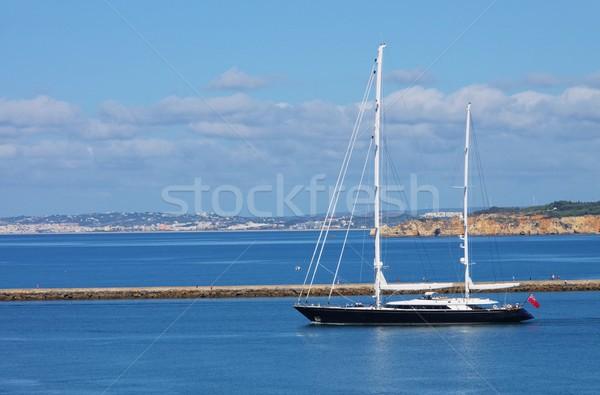 Algarve sailing yacht 01 Stock photo © LianeM