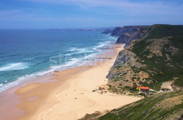 Algarve beach da Cordama  Stock photo © LianeM