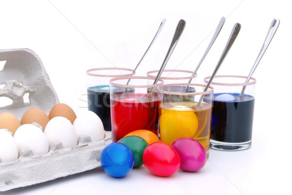 easter eggs Stock photo © LianeM