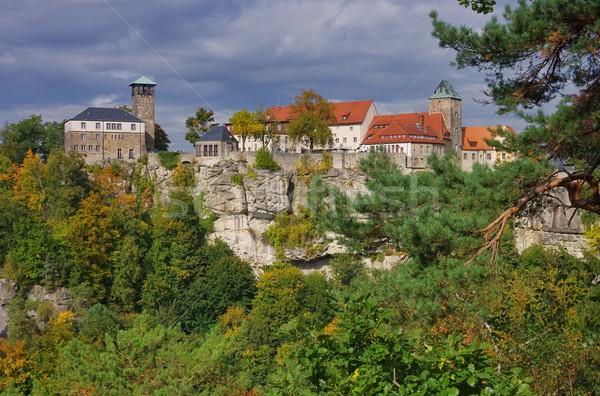 Stock photo: Hohnstein castle 01