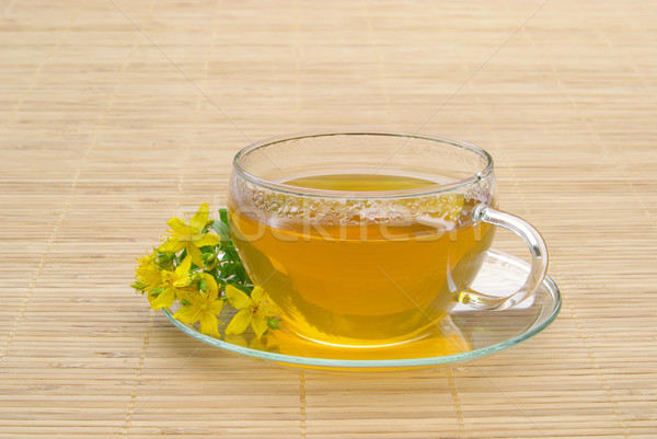 tea St Johns wort 10 Stock photo © LianeM