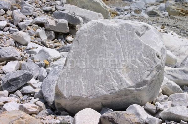 Carrara  marble stone pit  Stock photo © LianeM