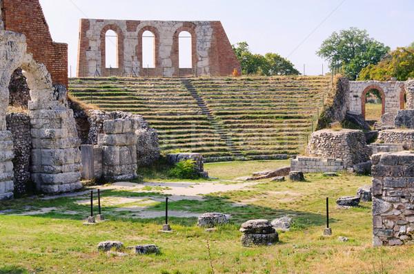 Gubbio amphitheatre 02 Stock photo © LianeM