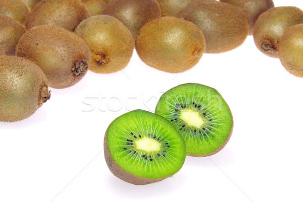 Kiwi 26 naturaleza frutas tropicales comer Foto stock © LianeM